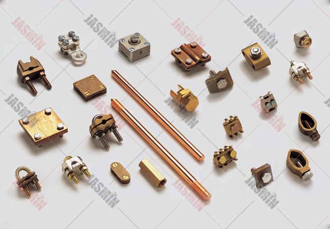 Brass Earthing Accessories Lightning Protection Parts
