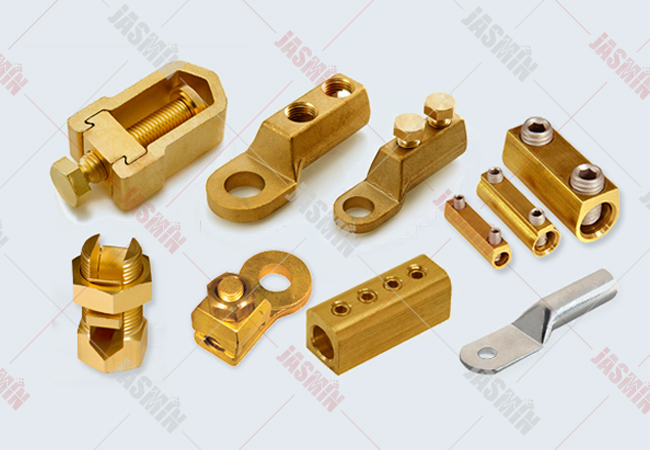 Brass Mechanical Connectors, Cable Lugs, Electrical Wiring Accessories
