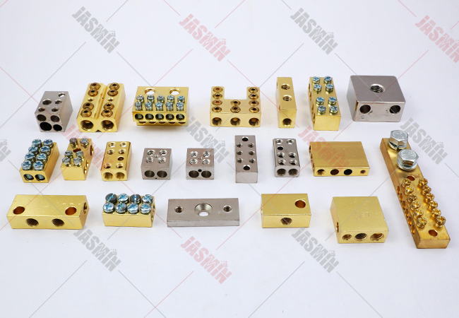 Brass Terminal Blocks, Brass Neutral Links & Electrical Wiring Accessories